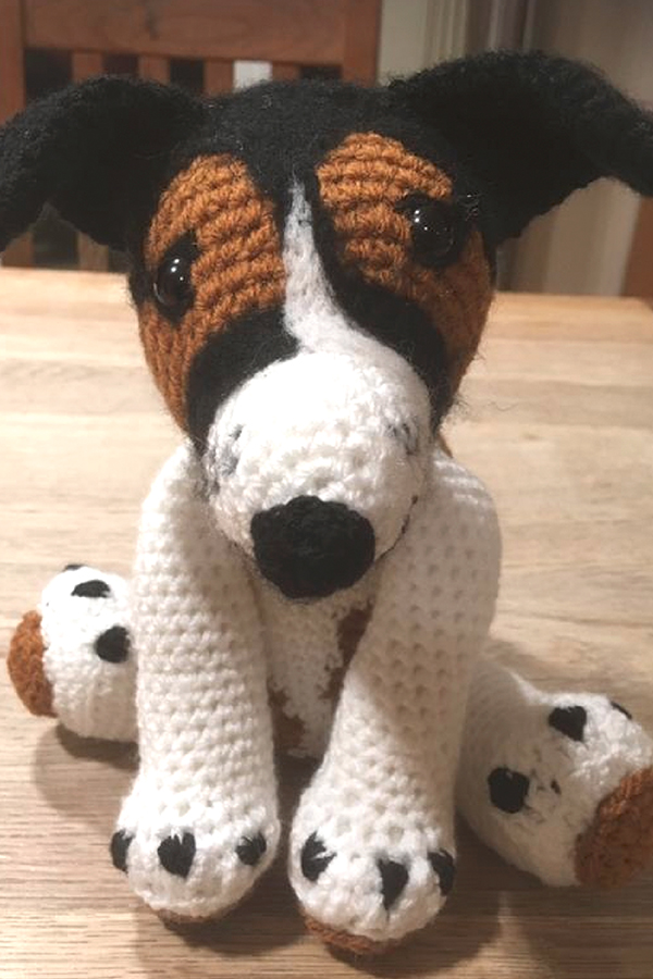 Another beautiful crochet friend from Pony Fx, see our Friends section to find out how you can give your very own pet the 3D treatment!