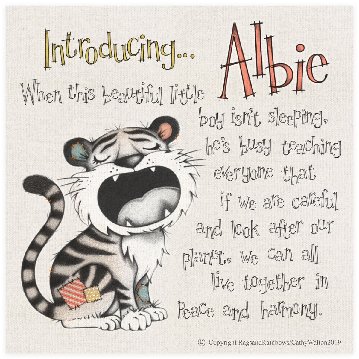 Albie the Tiger