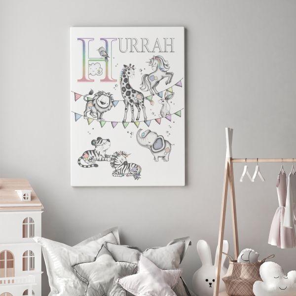 Hurrah colour Unicorn