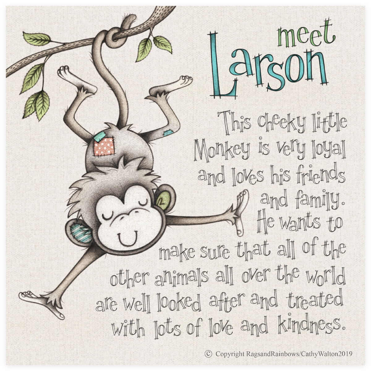 Larson the Monkey