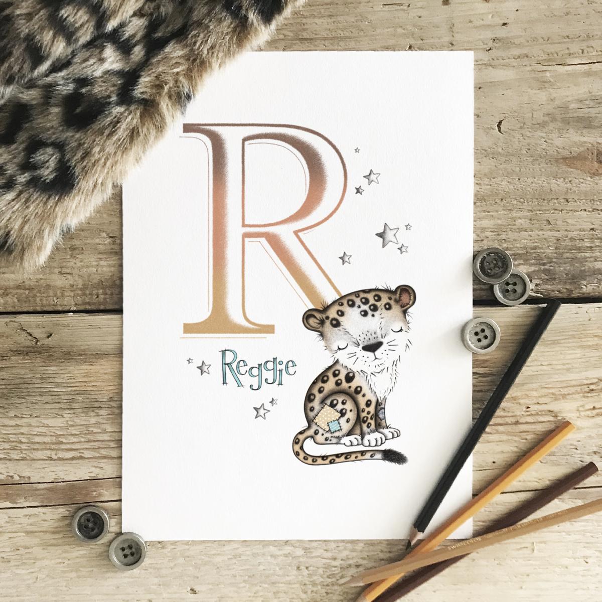 Leopard Initial Colour