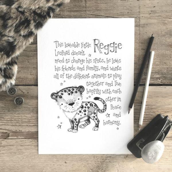 Leopard Story Mono