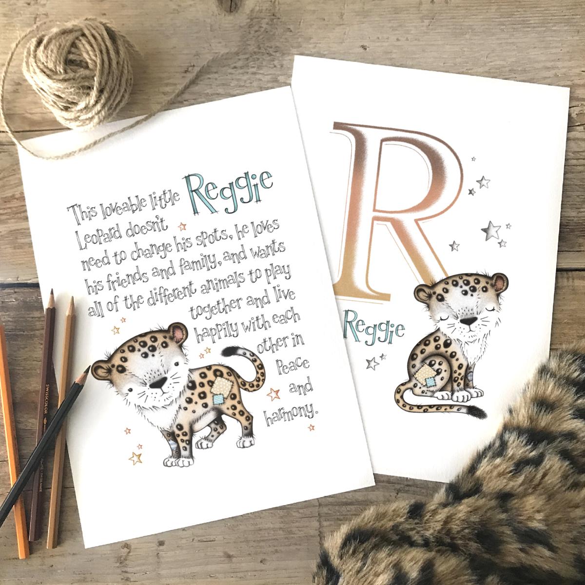 Leopard set 2 colour