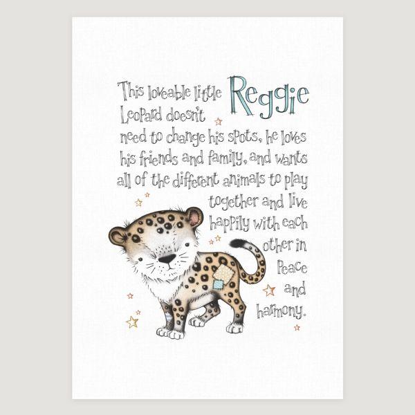Little Leopard Story Colour