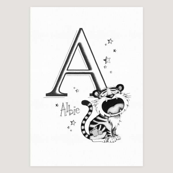 Little Tiger Initial Mono