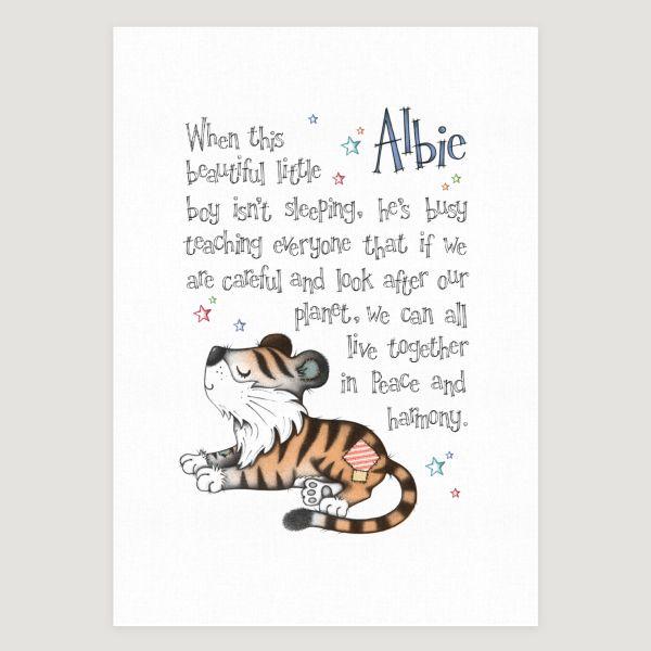 Little Tiger Story Colour