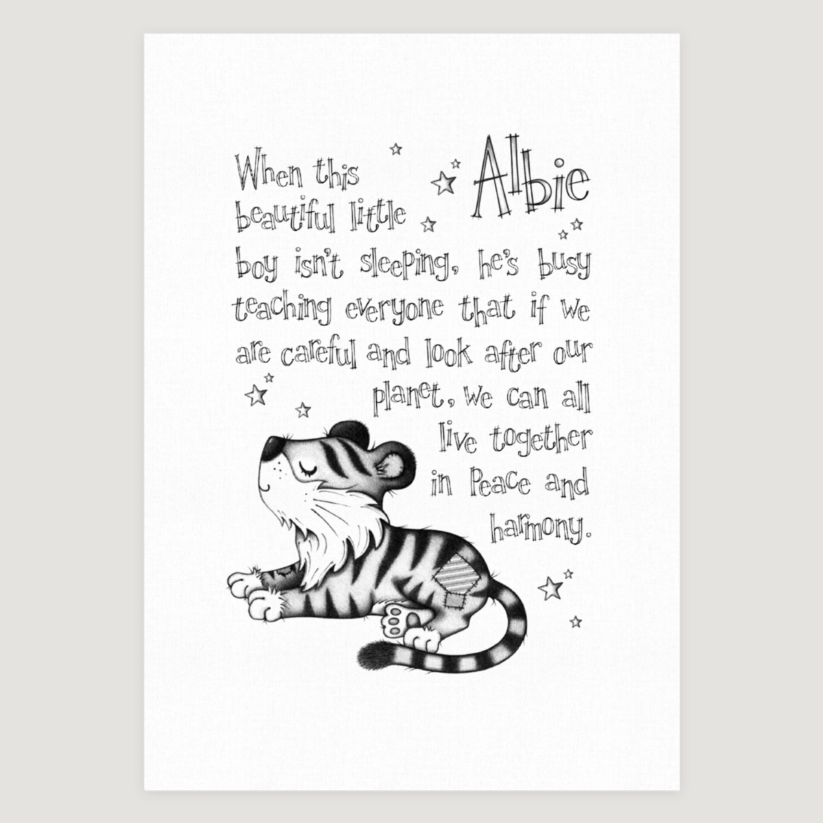 Little Tiger Story Mono