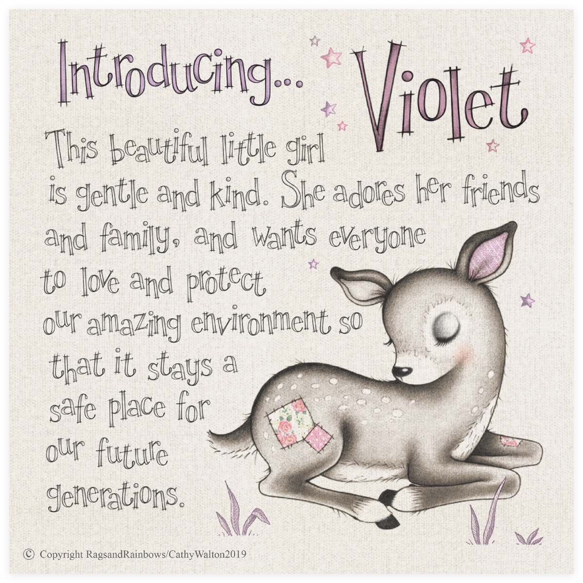 Violet the Deer