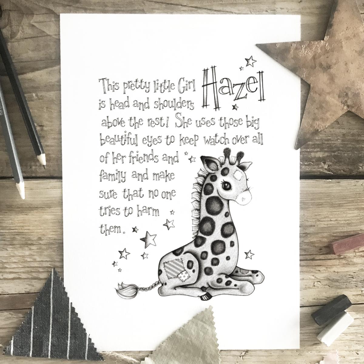 Giraffe Story Mono