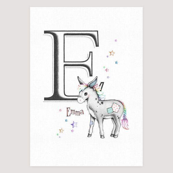 Little Donkey Initial Colour Pops