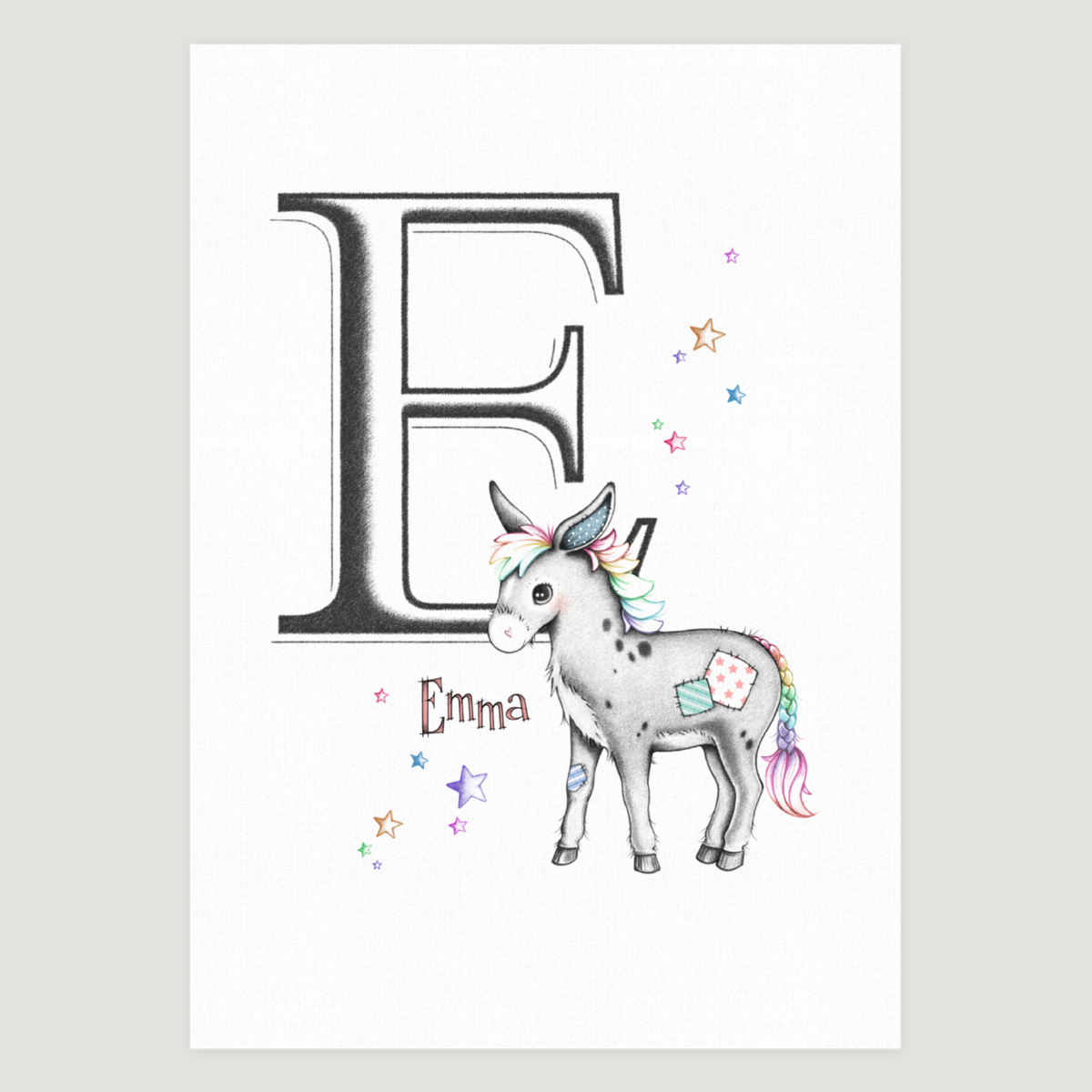 Little Donkey Initial Colour Pops