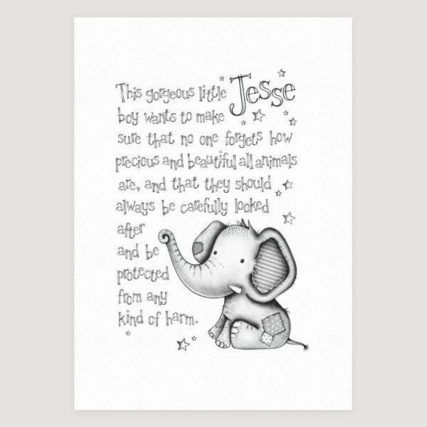Little Elephant Story Mono