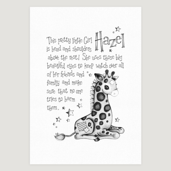 Little Giraffe Story Mono