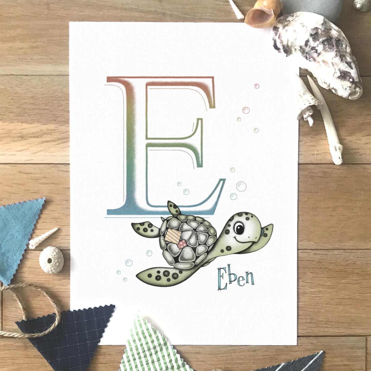 Sea Turtle Initial Colour