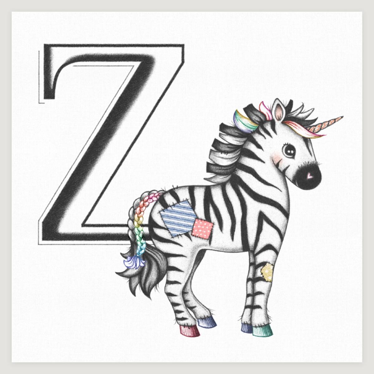 Zebracorn