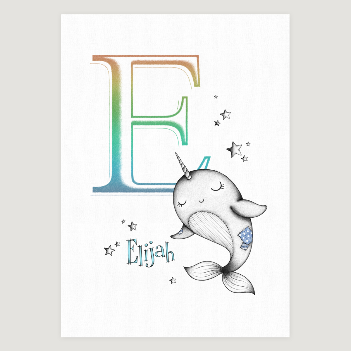 Little Narwhal initial Colour