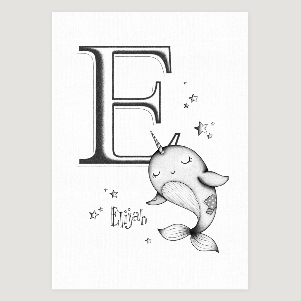 Little Narwhal initial Mono