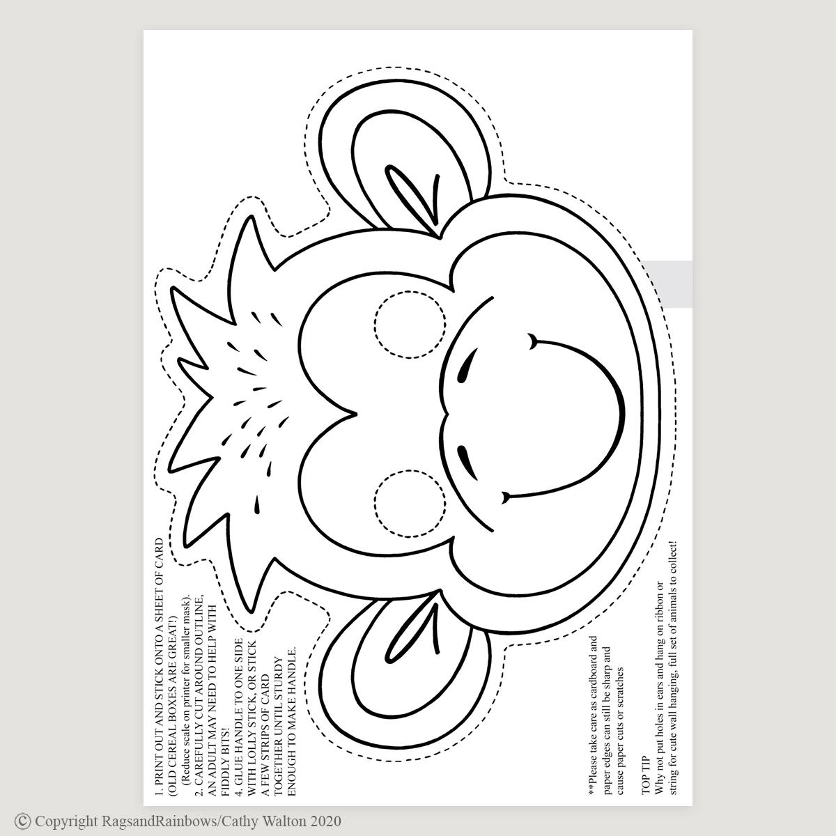 monkey mask mono