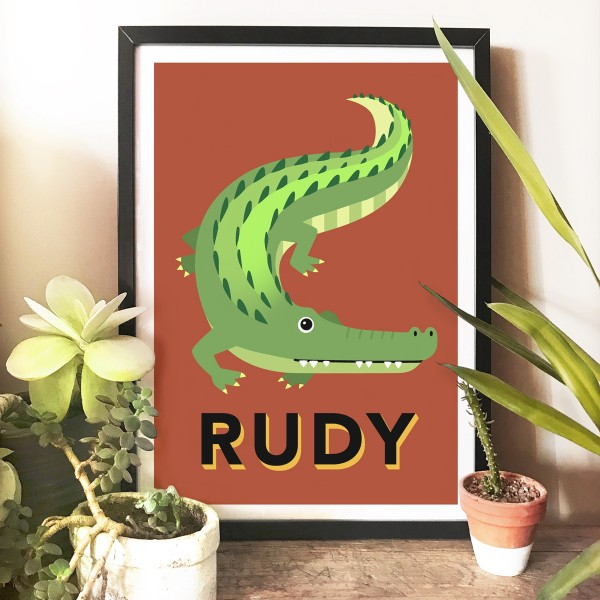 Alligator framed rust