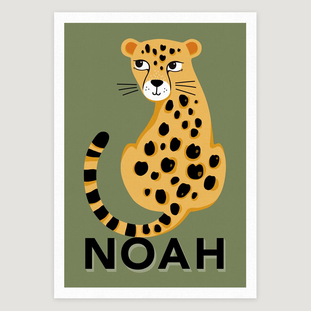 Leopard khaki lashes