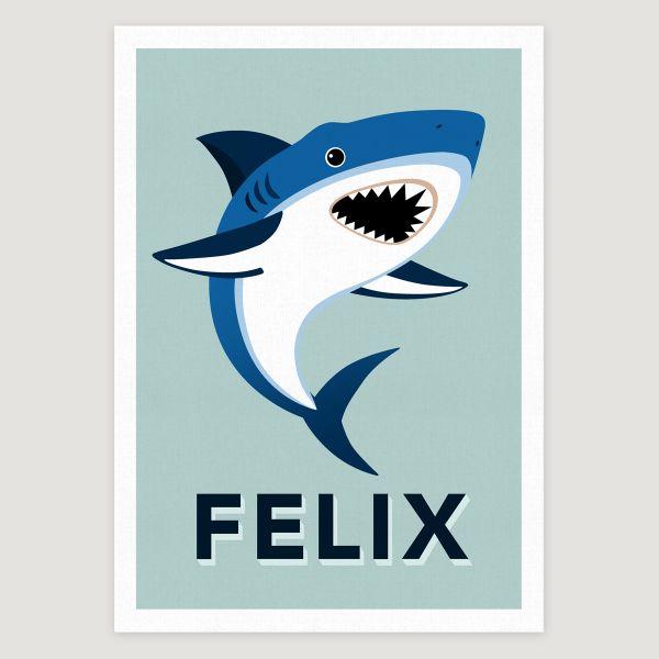 Shark pale aqua