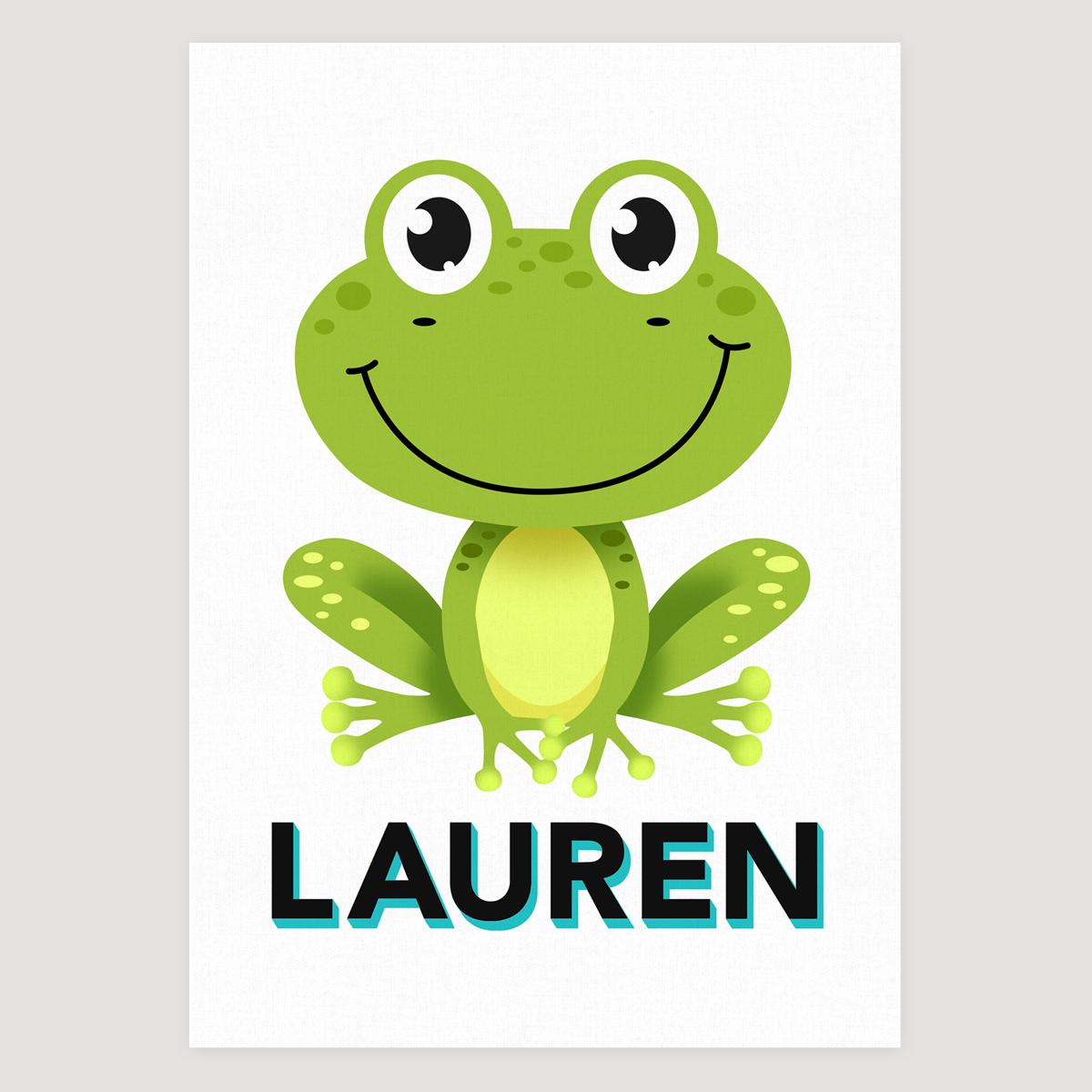 Frog white