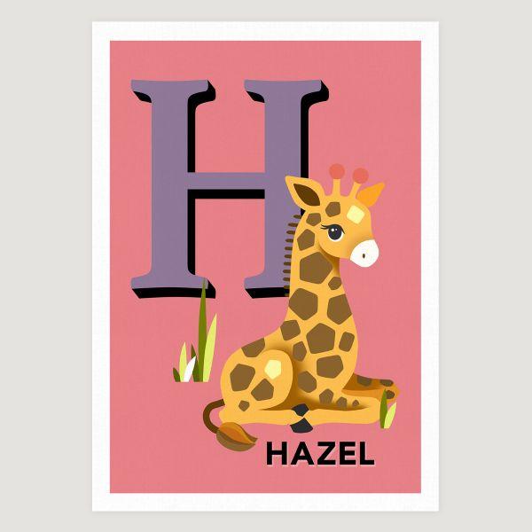 Giraffe initial coral