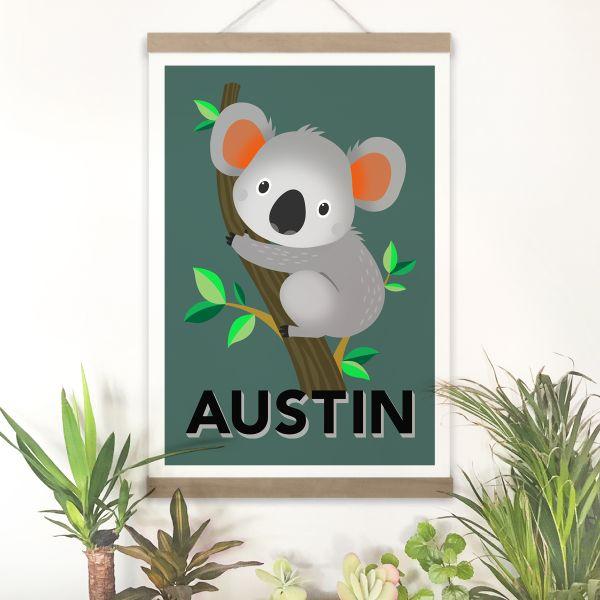 Koala framed
