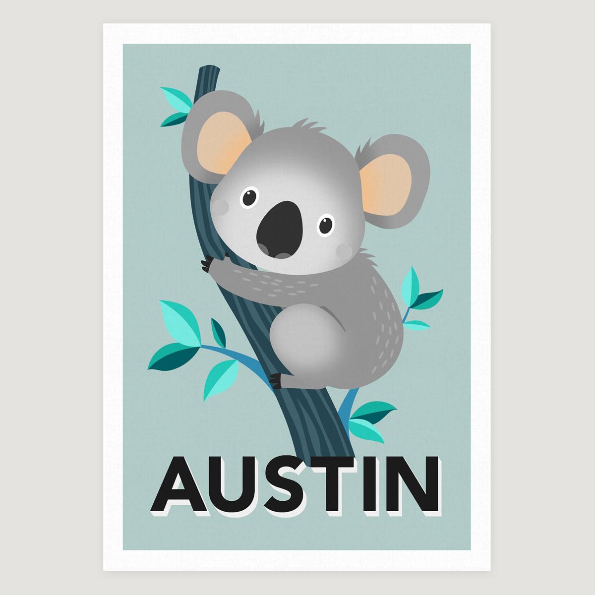 Koala pale blue