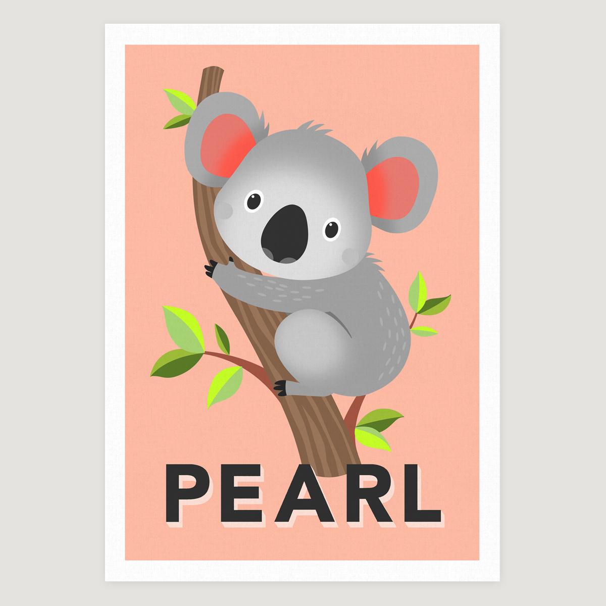 Koala peach