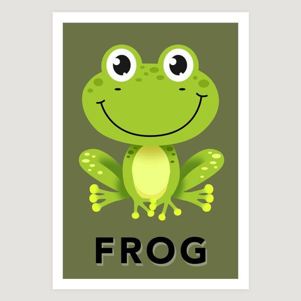 Frog khaki green