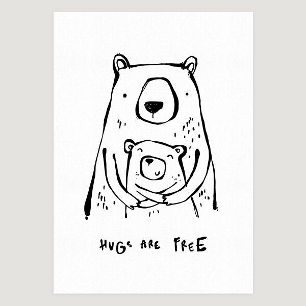 Huga are free bear