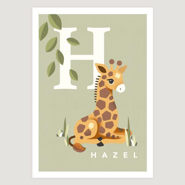 Giraffe initial sage