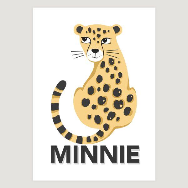 Leopard natural eyelashes