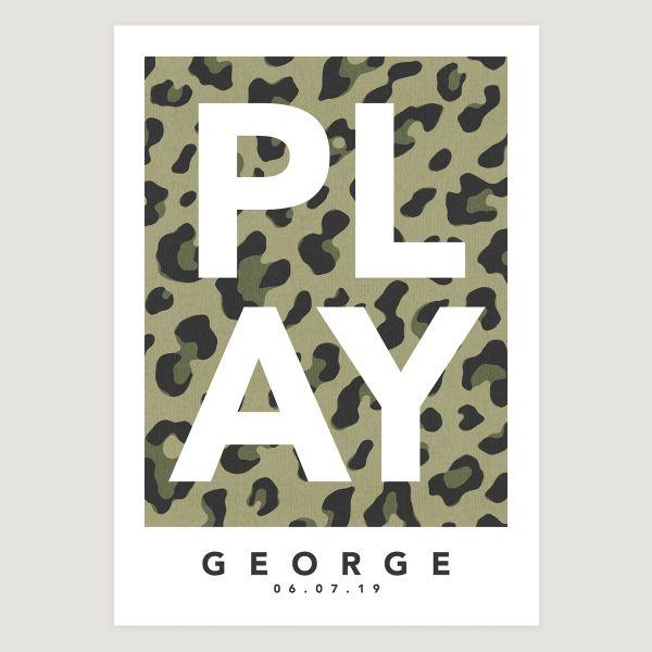 Play leopard green