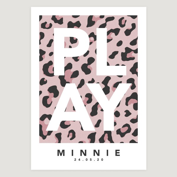 Play leopard pink