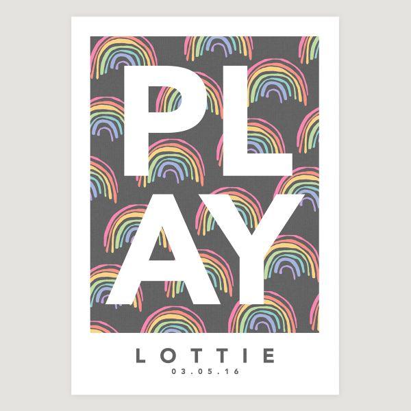 Play rainbow